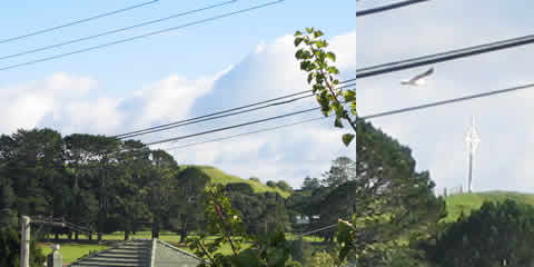Good weather over Mt Roskill